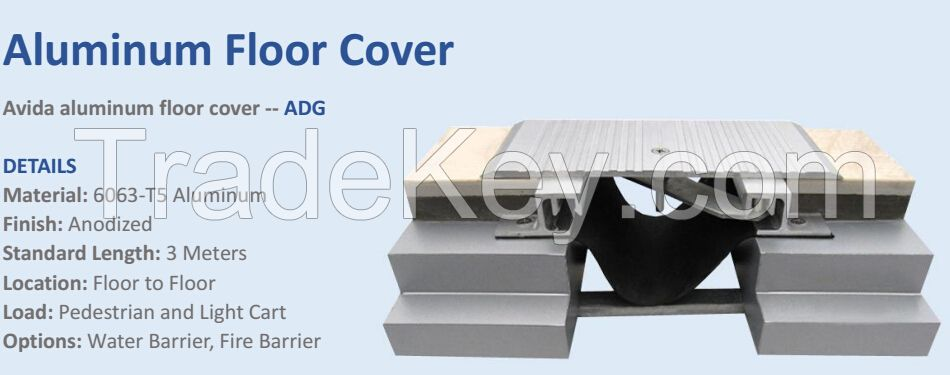 concrete expansion joint cover