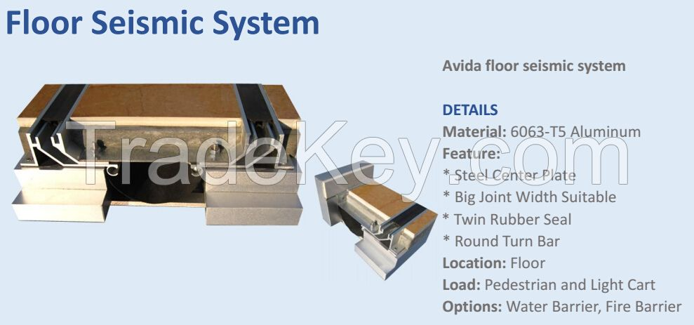 seismic expansion joint system