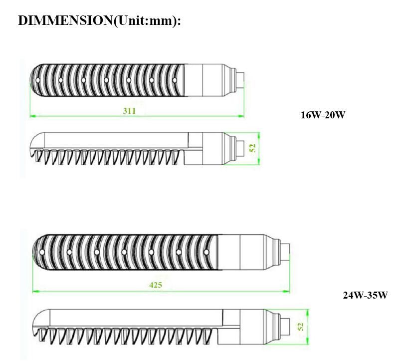 Son LPS bulb replacement B22 12W 20W 33W SOX LED bulb replace sox-E18 sox35 sox55 sox90 low pressure sodium lamp