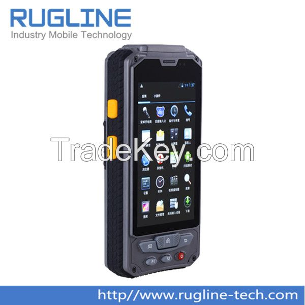 4.3 inch touch screen Rugged Android 4.2 Handheld barcode scanner with GPS WIFI 3G