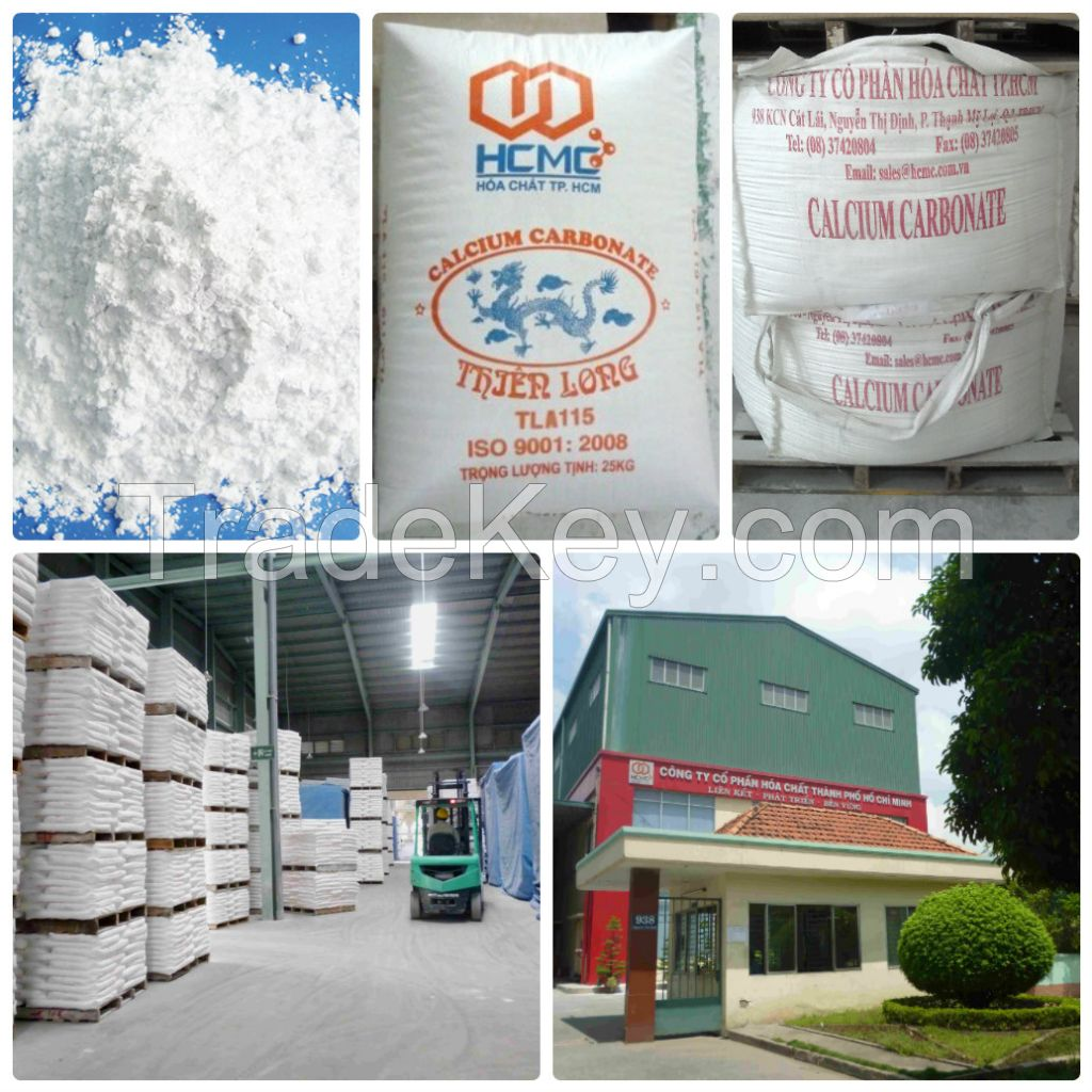 Calcium Carbonate Powder Uncoated
