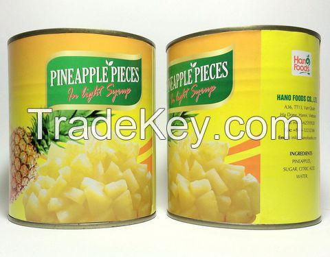 CANNED FRUITS(pineapple/lychee)