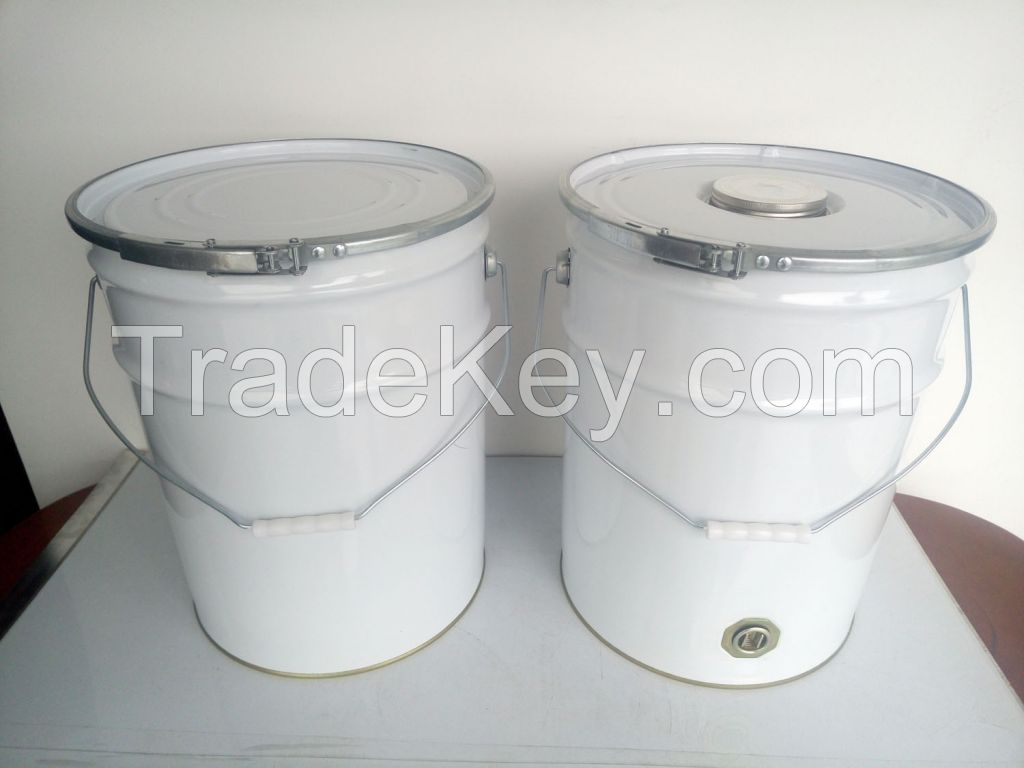 20L tin pail with UN approved, metal bucket, 5 gallon drum