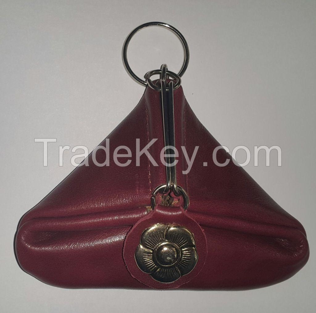Genuine Leather Purse Pampa
