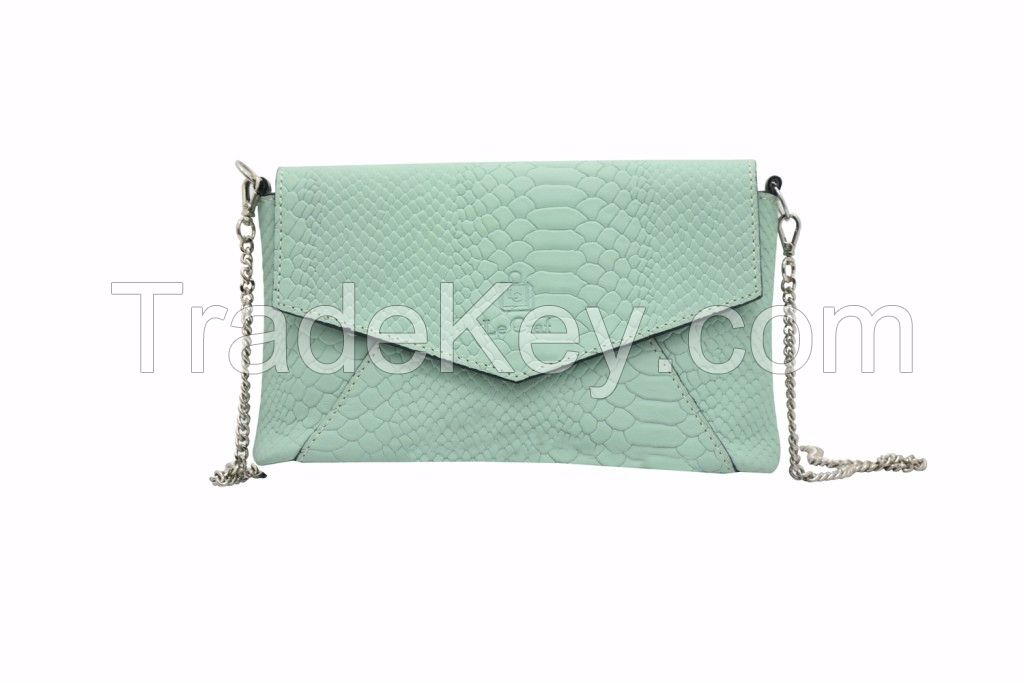 Leather Ladies Clutch Wallets