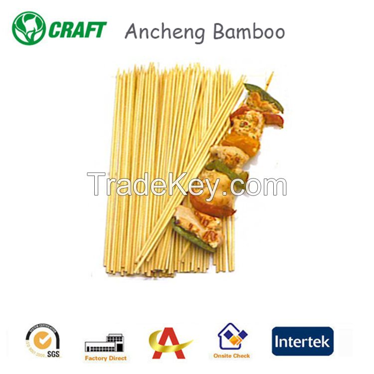 Disposable natural bbq bamboo skewer