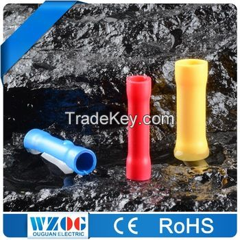High Quality Electrical Tin Plated Crimp Copper Insulated Ring Terminals