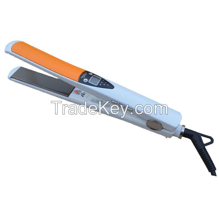 470F Personalized hair straightener infra-red ceramic hair flat iron