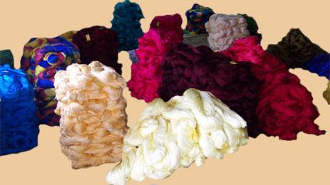 Viscose Rayon yarn hanks