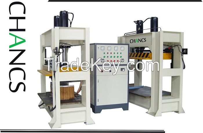 High Frequency Plywood Bending Press--CHANCS MACHINE