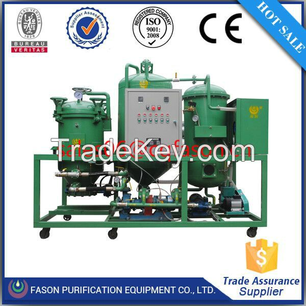 Easy operation waste gear oil recycle plant
