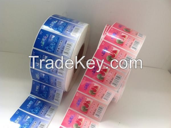 Adhesive PVC label, Kraft Paper Sticker, Writale Paper sticker,