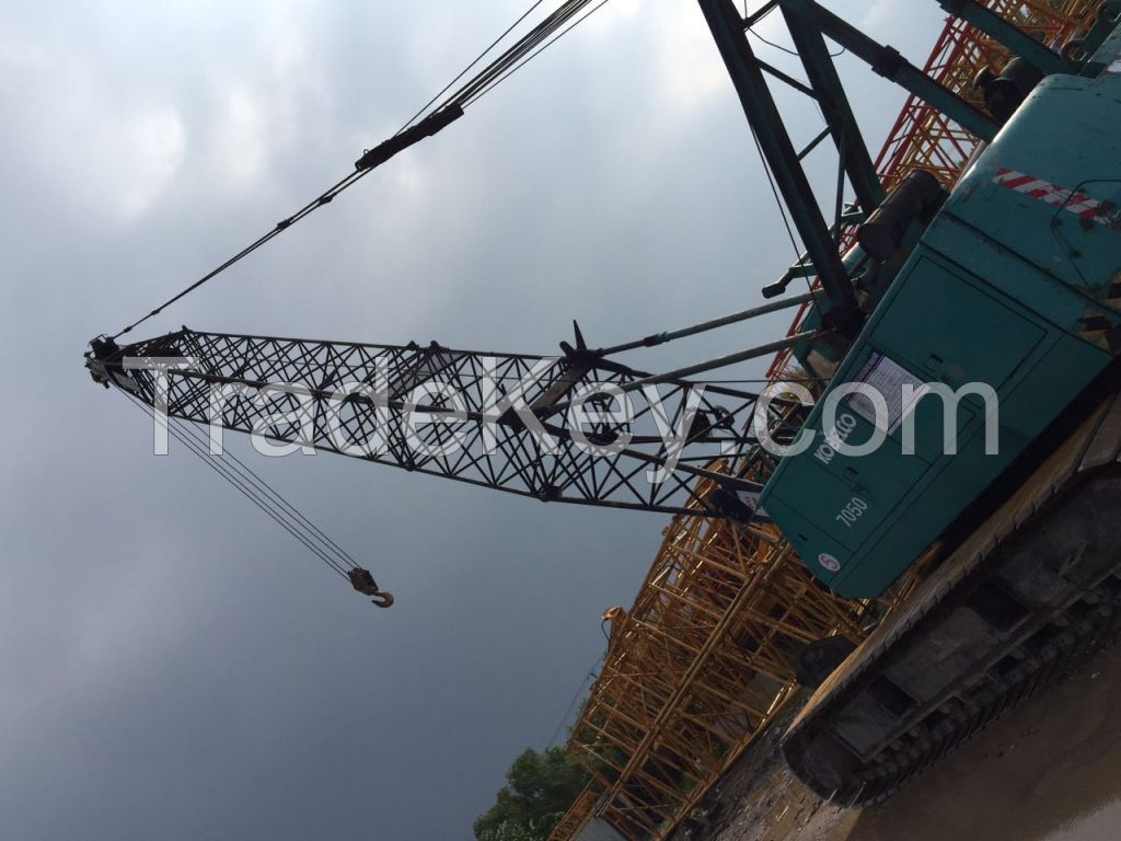 GOOD CONDITION Used KOBELCO 45T (Crawler Crane)