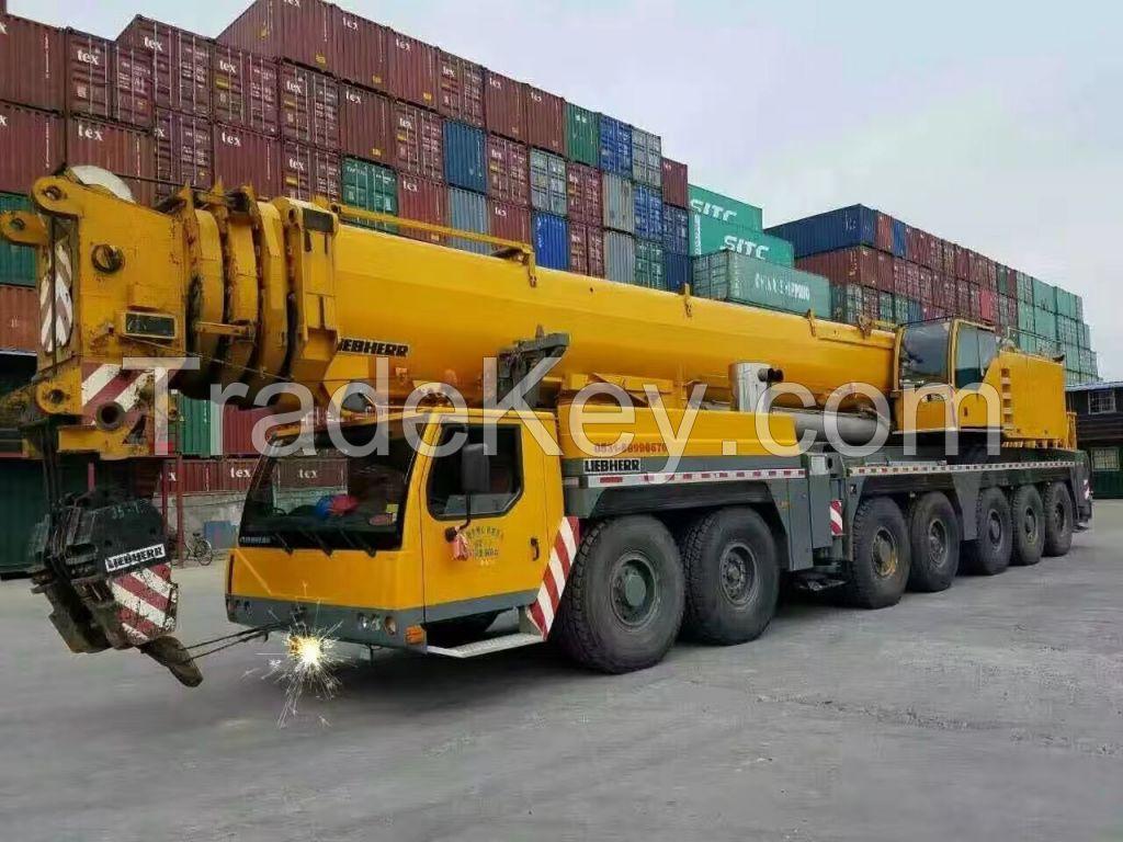 PERFECT CONDITION Used LIBHERR 400T truck crane LTM1400