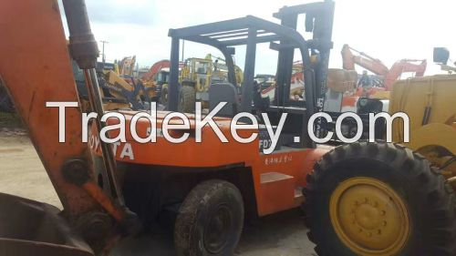 Used TOYOTA Forklift 7T FD70 Good Quality