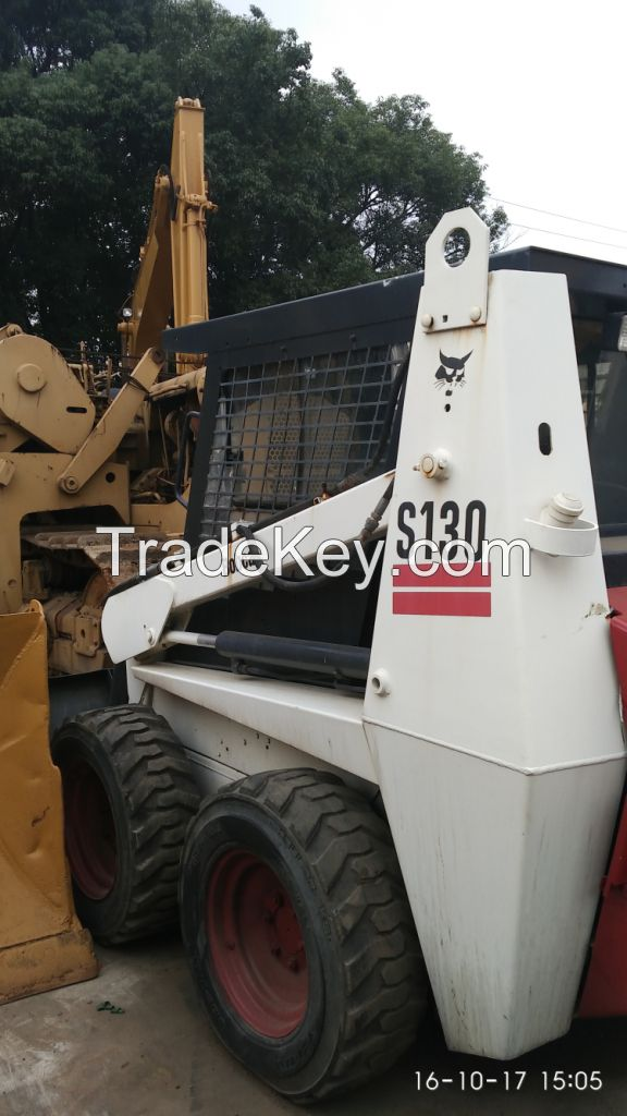 Good Condition Used Bobcat Loader S130