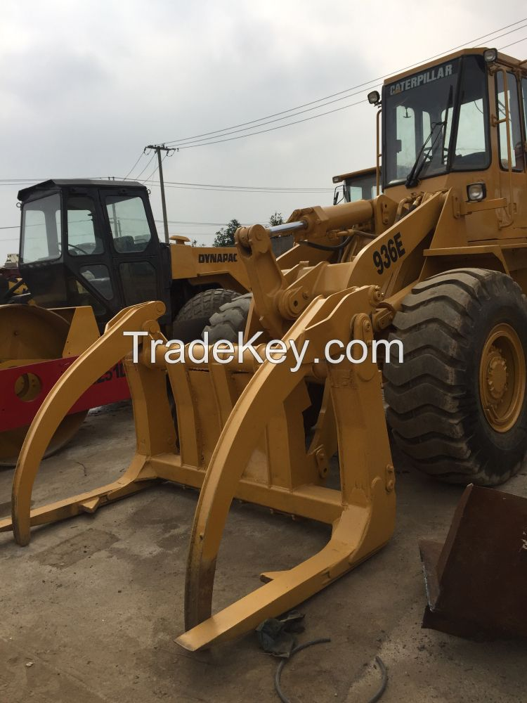 Used CAT Caterpillar Loader with clamping 936E