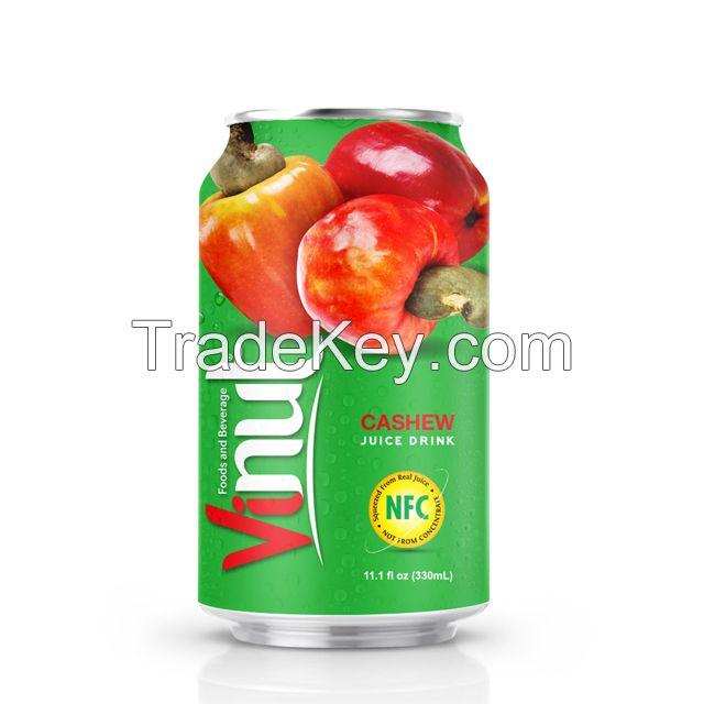 330ml Canned Cashew juice drink