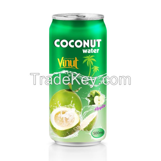 330ml Canned Coconut water with Apple juice