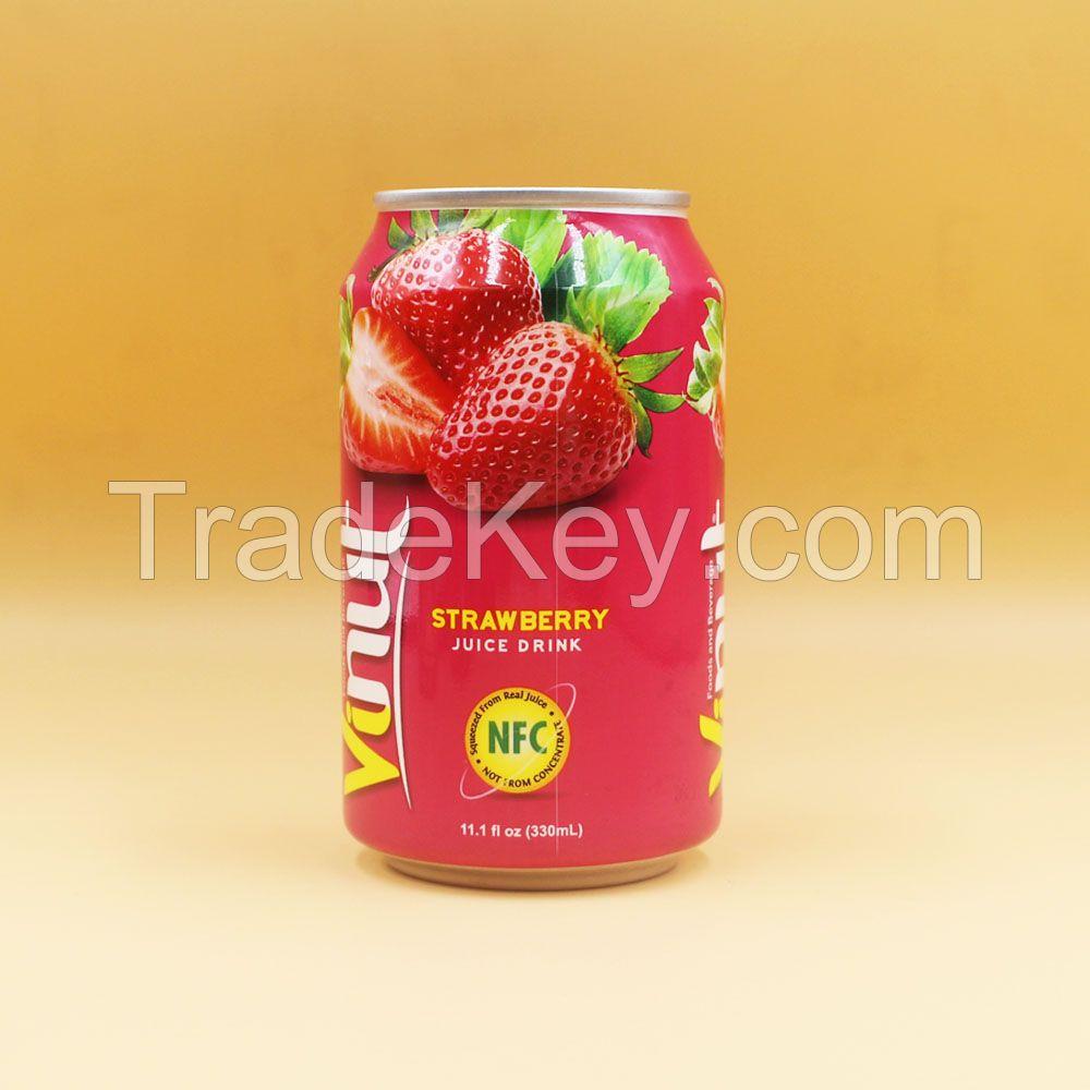 11.1 fl oz VINUT Strawberry Juice Drink