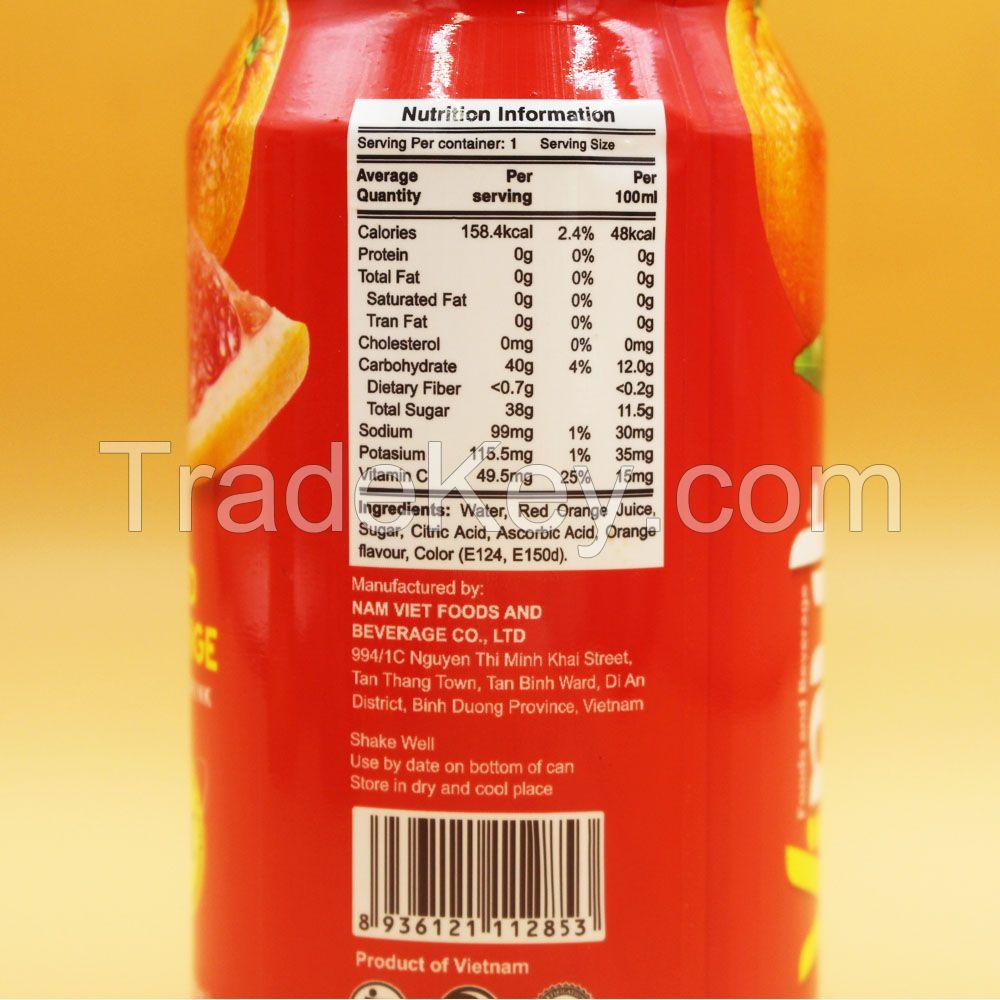 11.1 fl oz VINUT Red Orange Juice Drink