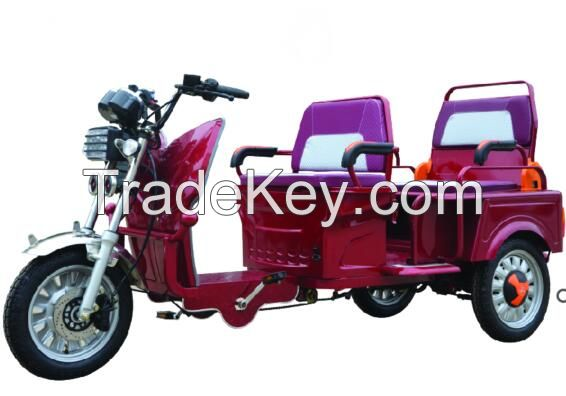 E-rickshaw electric tricycle taxi