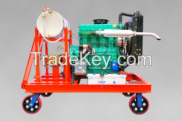 Diesel-Driven Ship Hull Cleaning Cleaner Boat Rust Removal Equipment