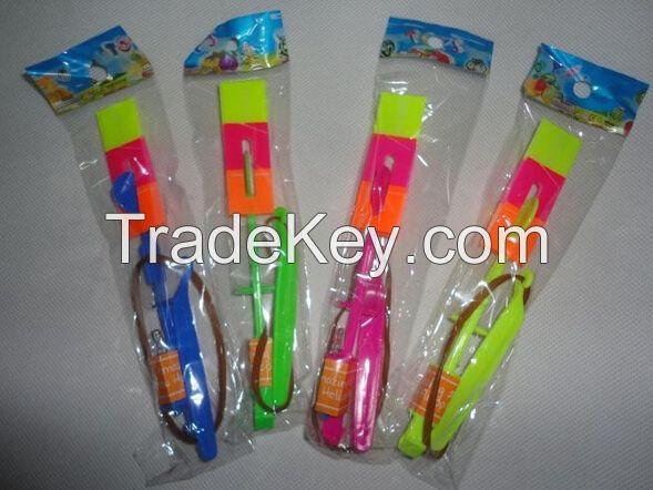 2016 chiildren toy glow products flying arrow