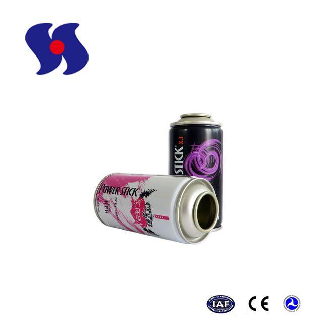 Diam.52mm Empty Aerosol Tin Can for Deodorant Spray