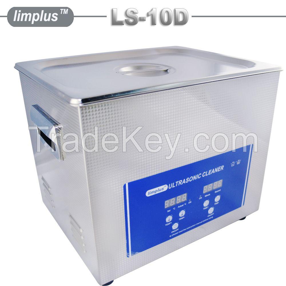 Limplus 10liter digital shooting gun ultrasonic cleaner ultrasonic cleaning machine