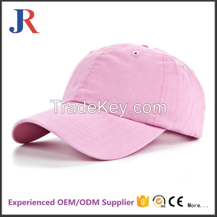 Jiangrun Cheap 6 Panel Custom Baseball Cap Good Quality