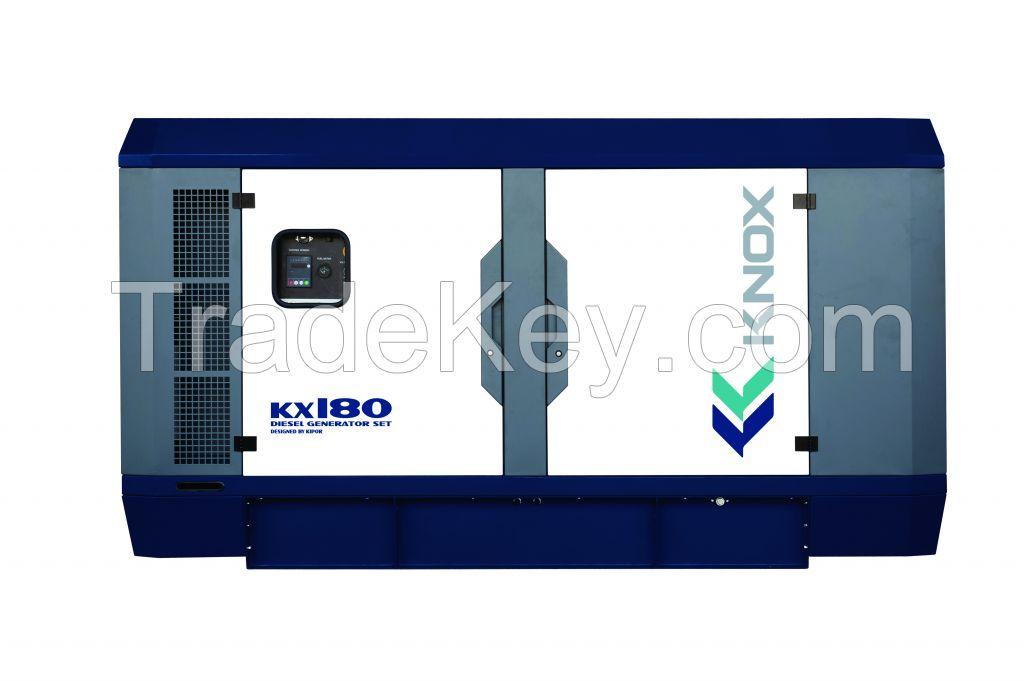 diesel generator KX180 with kipor engine and alternator