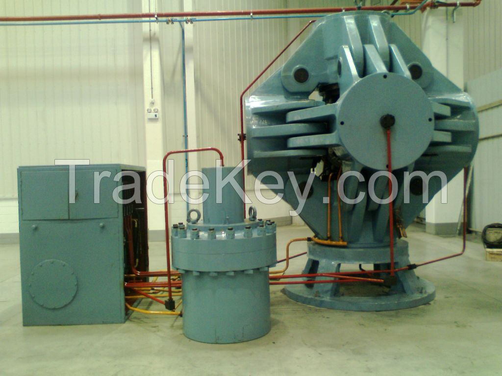 Super-hard Material Cubic Hydraulic Press For 650mm