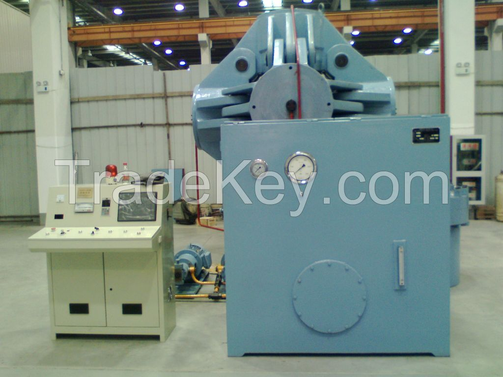 Hydraulic Synthetic Diamond Making Machine HPHT Cubic Press For 700mm