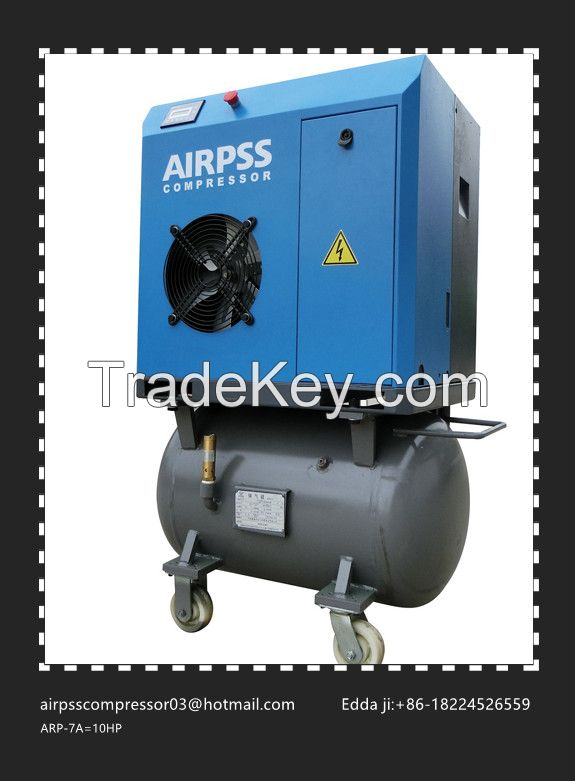 Airpss Rotary  screw type air  compressor of 10hp-50hp