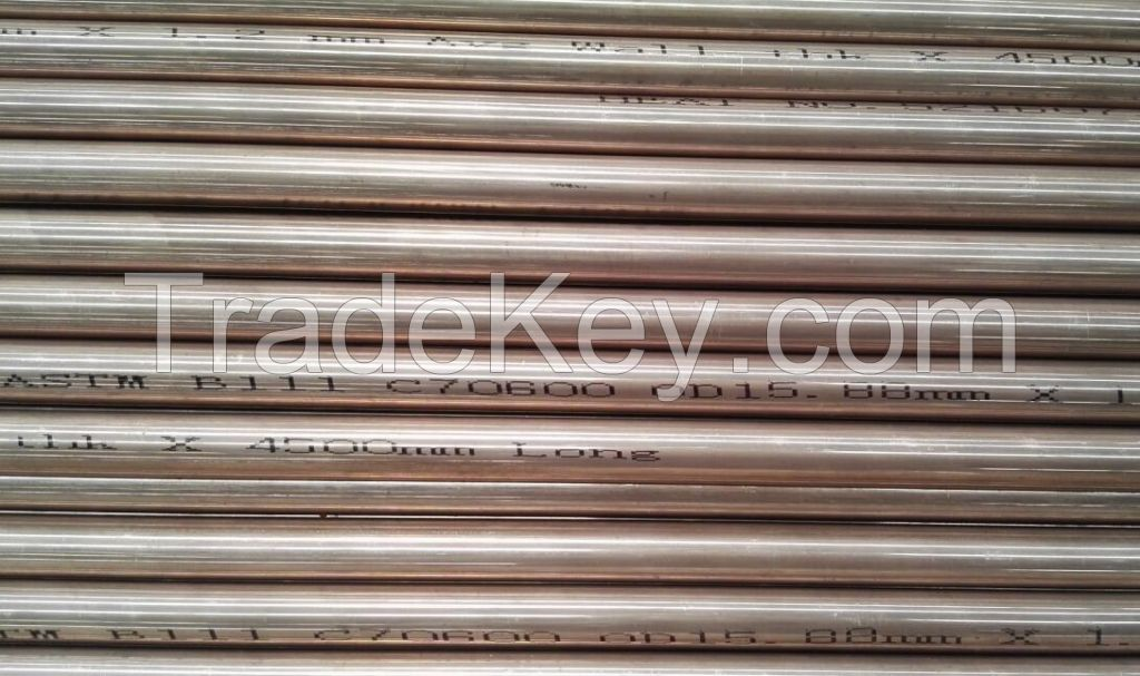 Copper-Nickel Tube 90/10 Alloy 706