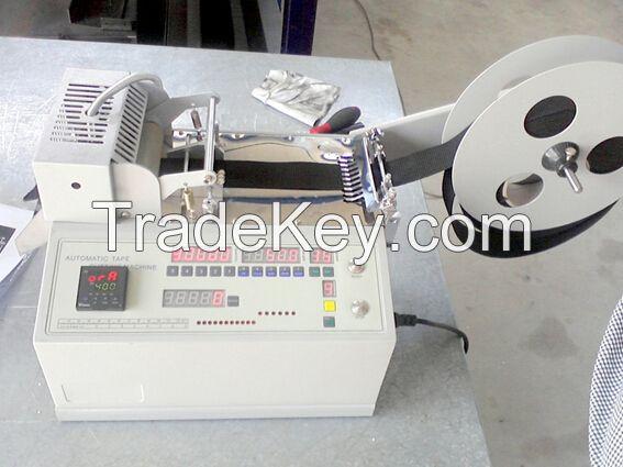Hot Knife Nylon/Polyester Webbing Tape Cutting Machine