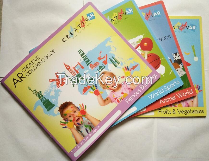 Early Education Toys Voal Magic 3D/4D Books, Children Christmas Gift B