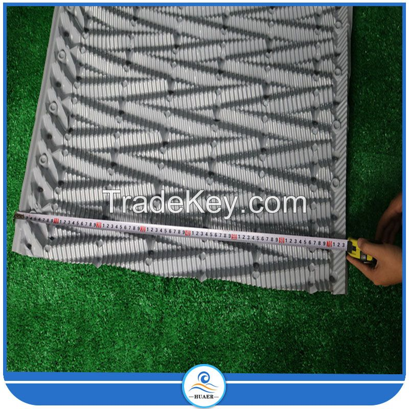 Black PVC Honeycomb Cooling Tower fill for cooling water