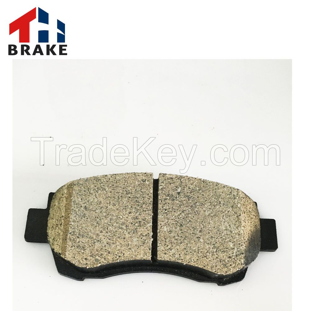 2016 hot selling high quality car truck brake pad made in China
