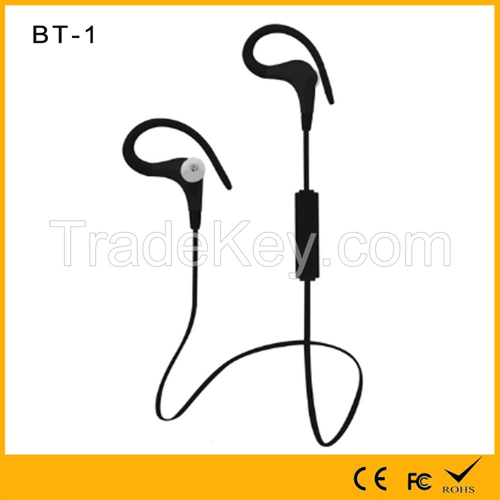 Quality Assurance sport bluetooth wireless earhook