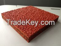 Excellent Elastic Performance Plastic Synthetic Sports Athletic Running Track or Run-Way for Wholesale with Good Price