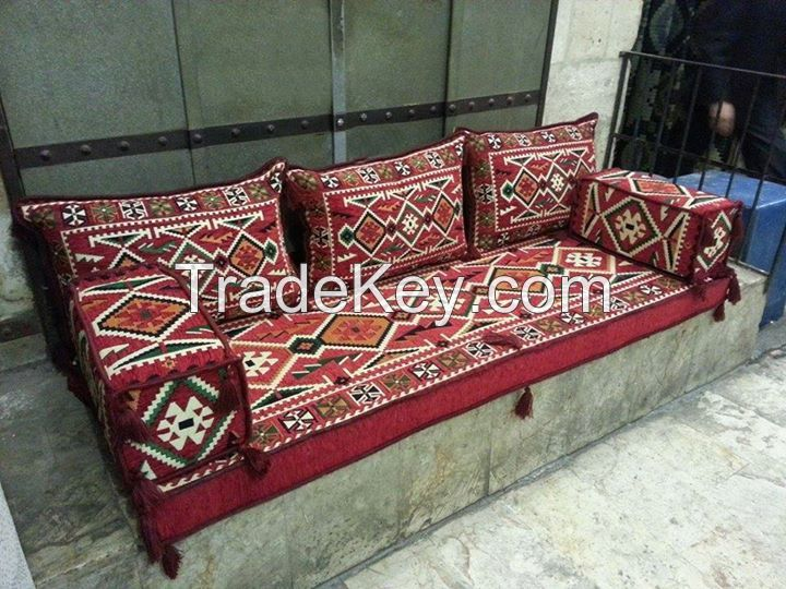 Phrygia Oriental Seating - Majlis, Floor seating, Jalsa , Moroccan seating for Home and Hookah Lounge