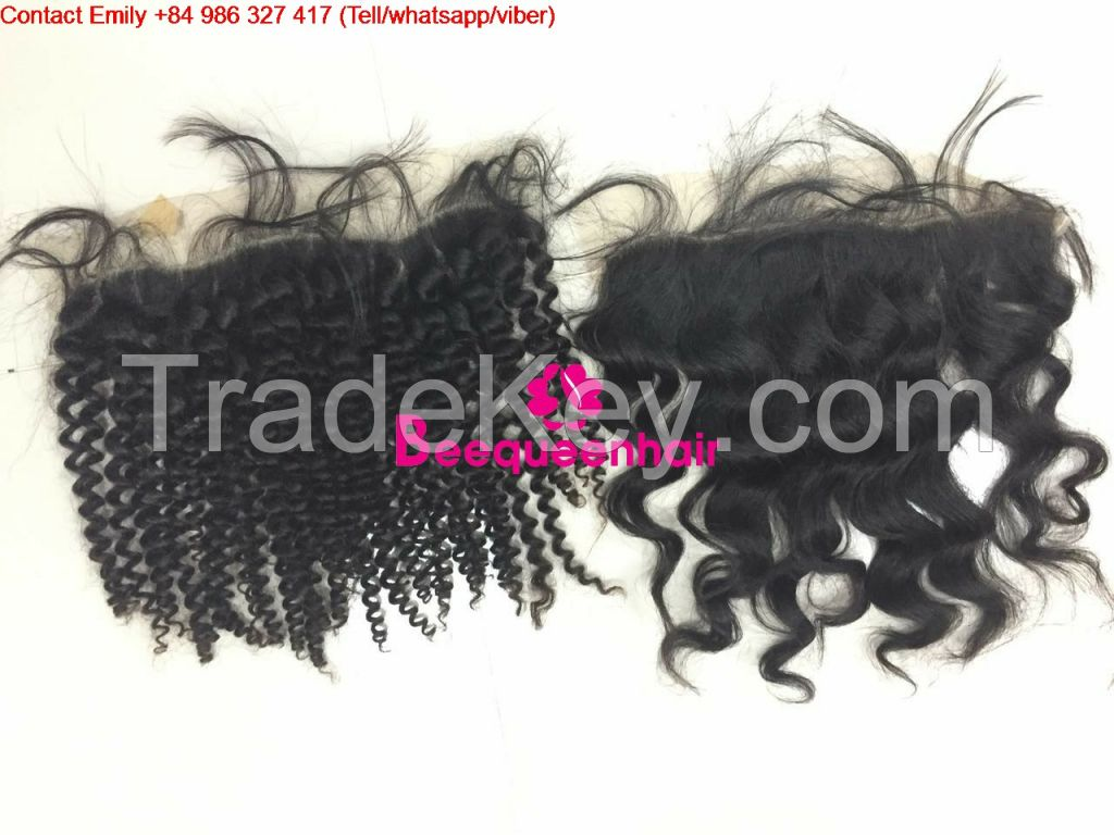 LACE FRONTAL HUMAN HAIR 20 INCHES