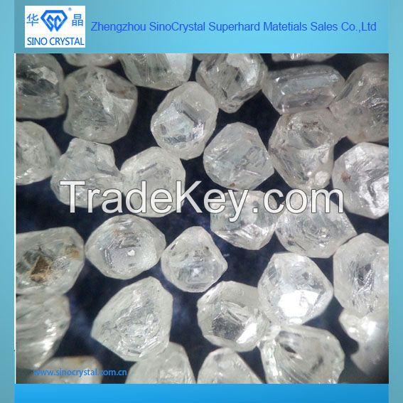 white rough synthetic diamond rough