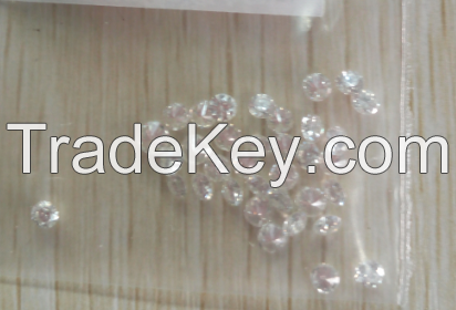 big size hpht white rough synthetic diamond use for jewellry from manufacturer of zhengzhou sino crystal superhard materials sales Co.ltd
