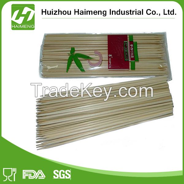 disposable and factory direct sales BBQ bamboo skewer