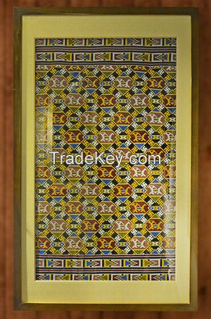 Brocade Wall hanging with Chinese traditional style