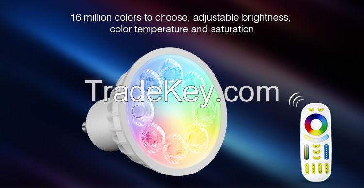 4W GU10 RGB+CCT color changable LED Spotlight
