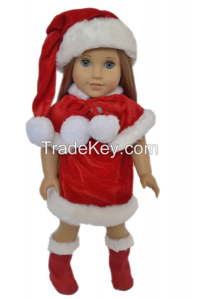 CHRISTMAS OUTFIT FOR AMERICAN GIRL DOLLS